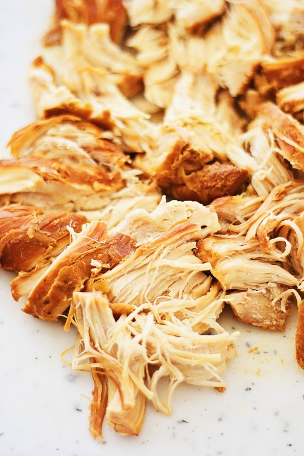 Slow Cooker Honey Teriyaki Chicken – tender chicken with sweet, savory, and delicious honey teriyaki sauce. Made in crock pot and takes only 10 mins to prep | rasamalaysia.com