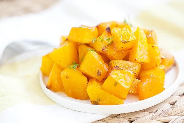 Honey Roasted Butternut Squash - Easy Recipes at RasaMalaysia.com