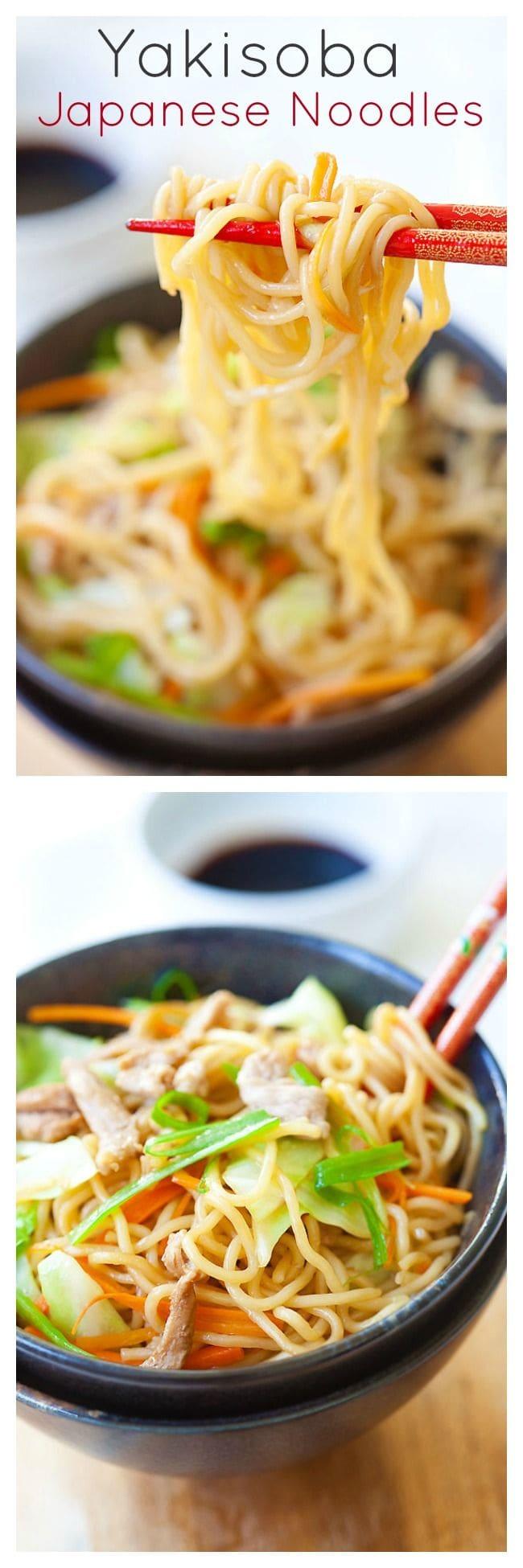 Yakisoba Japanese Fried Noodles Easy Recipes At Rasamalaysia Com