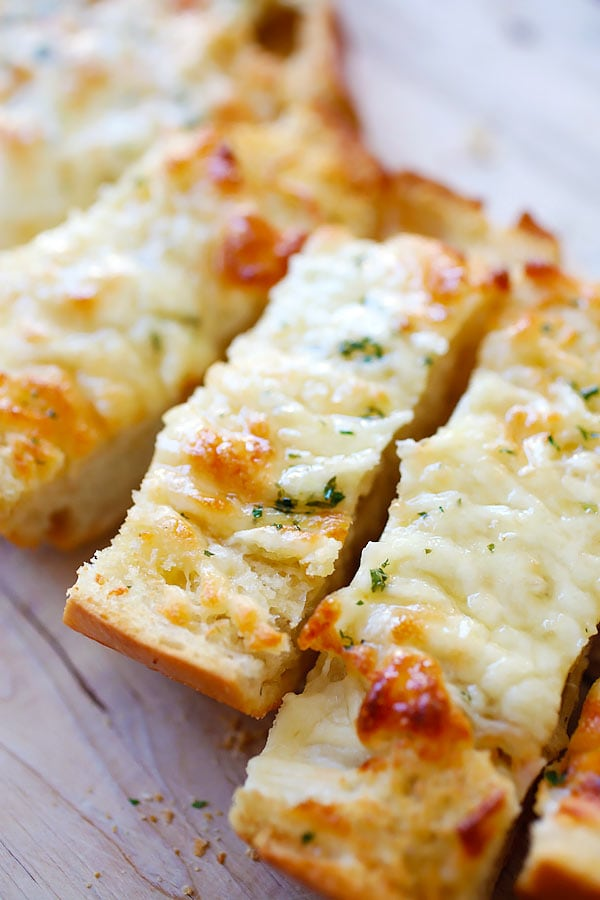 Classic Italian bread recipe with cheese and butter.