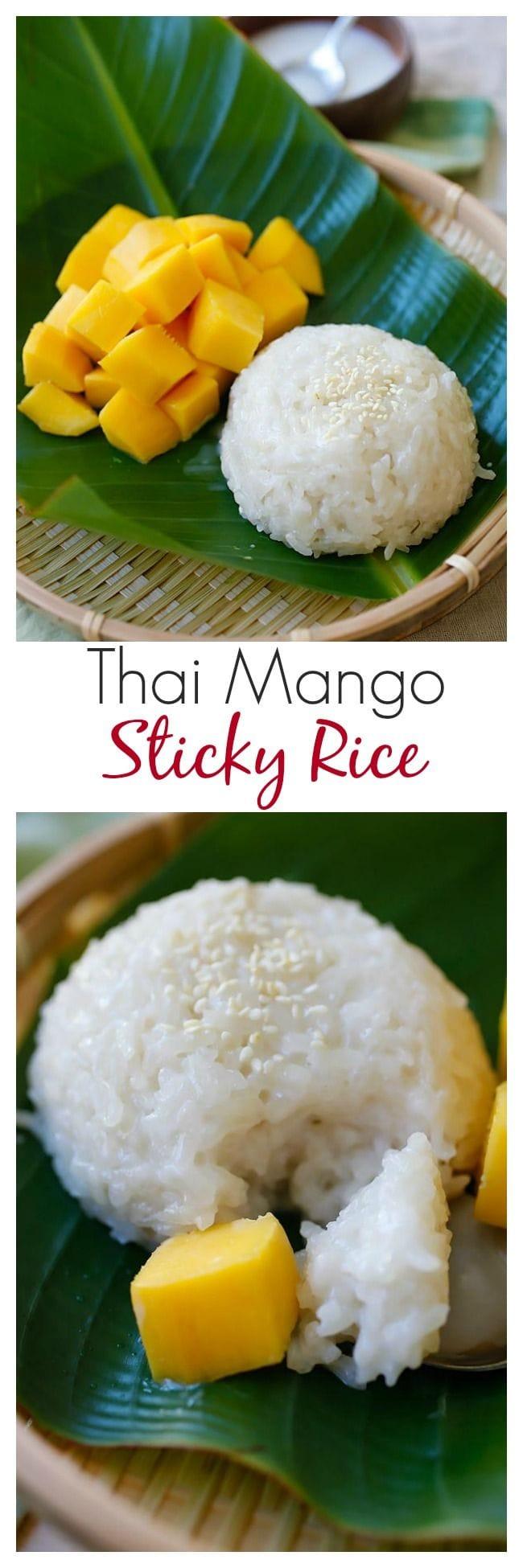 Mango Sticky Rice - Rasa Malaysia