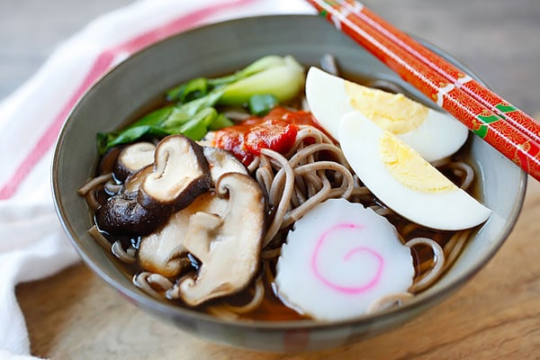 Soba Noodle Soup - the easiest and most delicious soba noodles ...