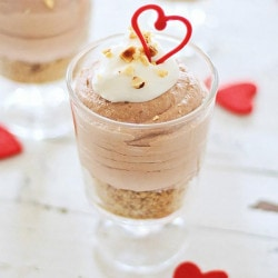 Nutella Cheesecake Mousse