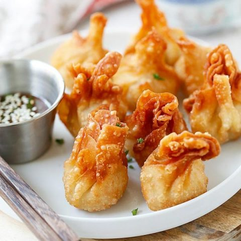 Chicken Wontons
