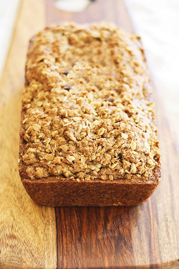 Easy, moist, and the best zucchini bread recipe.