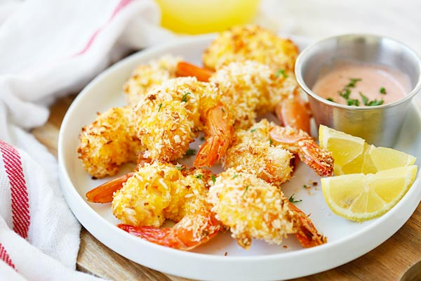 Baked Coconut Shrimp – EASIEST and BEST coconut shrimp with no deep ...