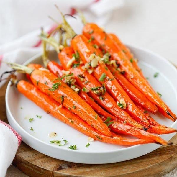 Honey Butter Roasted Carrots