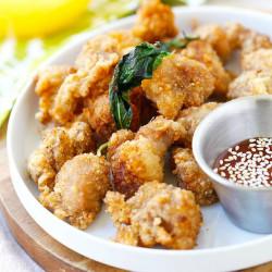 asian popcorn chicken