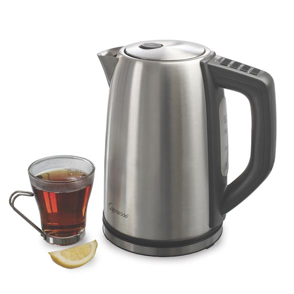 Capresso H20 Steel PLUS Kettle Giveaway (CLOSED)