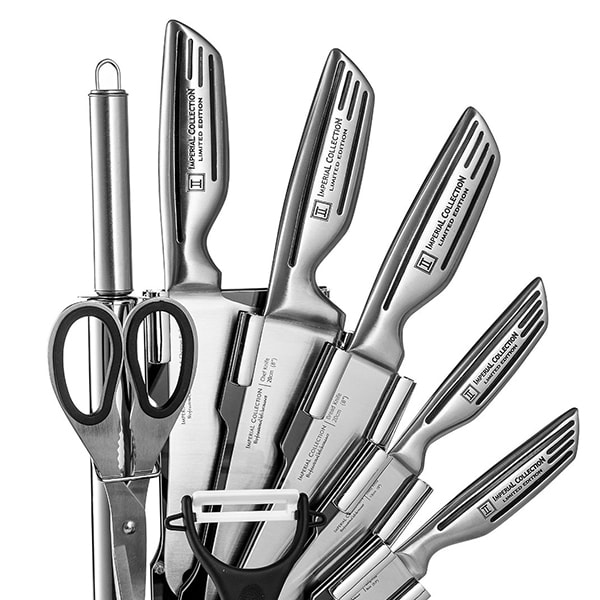 Imperial Collection 9-Piece Stainless Steel Knife Set Giveaway