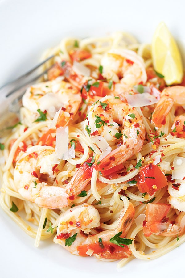 Top shrimp pasta recipes