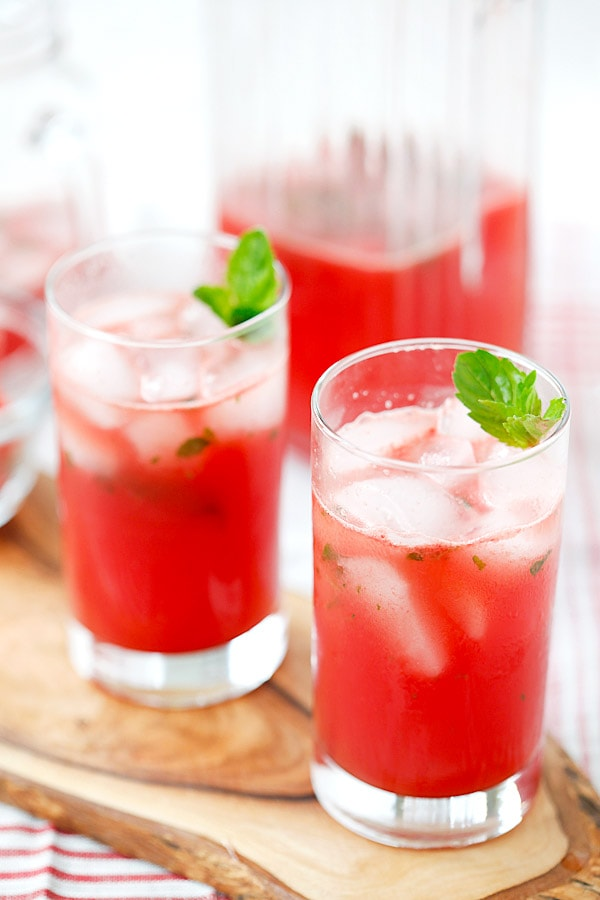 ... watermelon, tequila, lime juice and mint, takes 15 mins | rasamalaysia