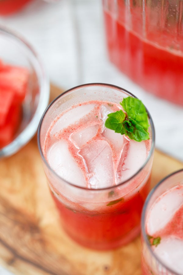 Easy and quick party Watermelon-Tequila Cocktail.