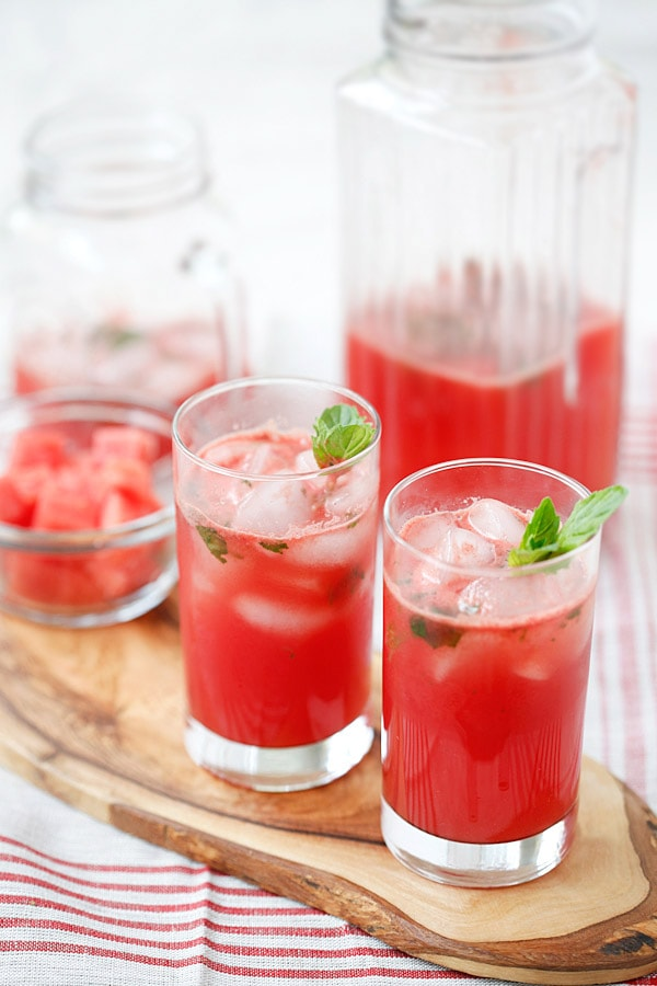 Watermelon Tequila Cocktail | Easy Delicious Recipes