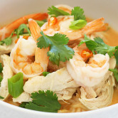 coconut curry noodle bowl