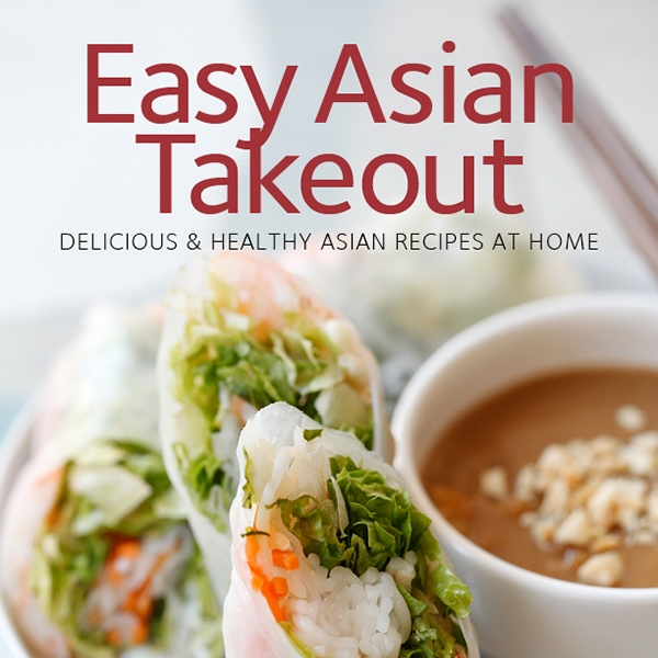 Easy Asian Takeout Cookbook Giveaway