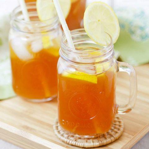 Ginger Lemongrass Detox Iced Tea