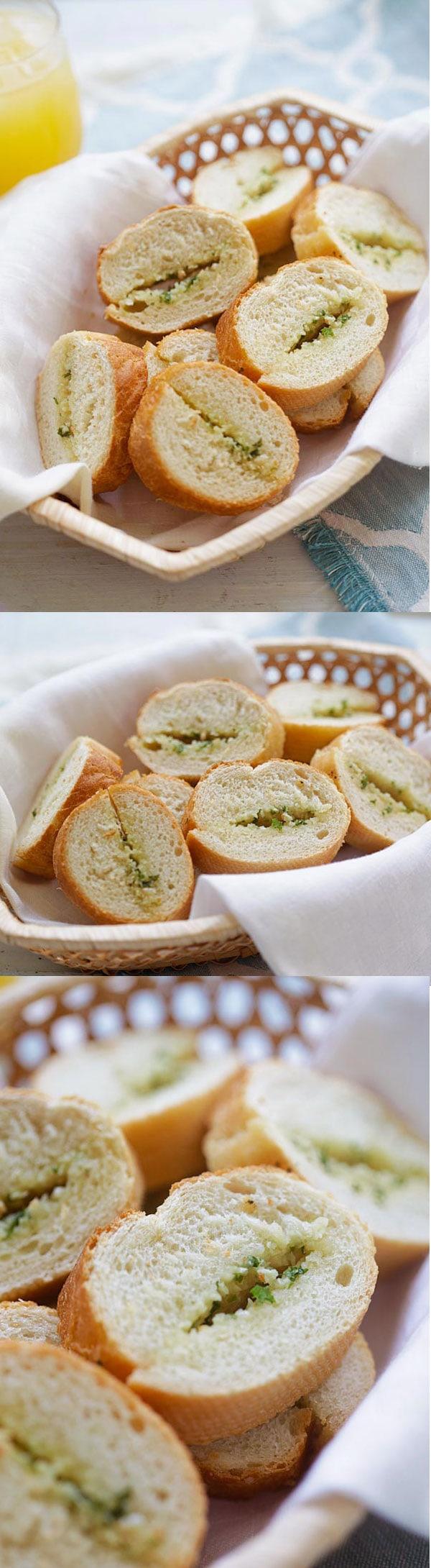 Garlic Bread | Easy Delicious Recipes