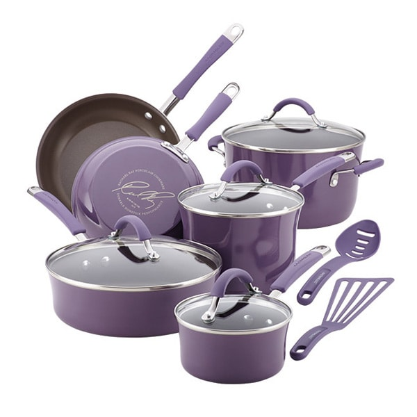 Rachel Ray 12-Piece Enamel Set
