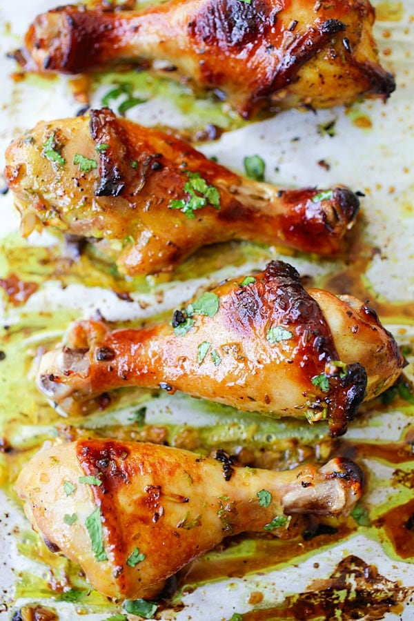 thai baked chicken drumsticks easy delicious recipes. Black Bedroom Furniture Sets. Home Design Ideas