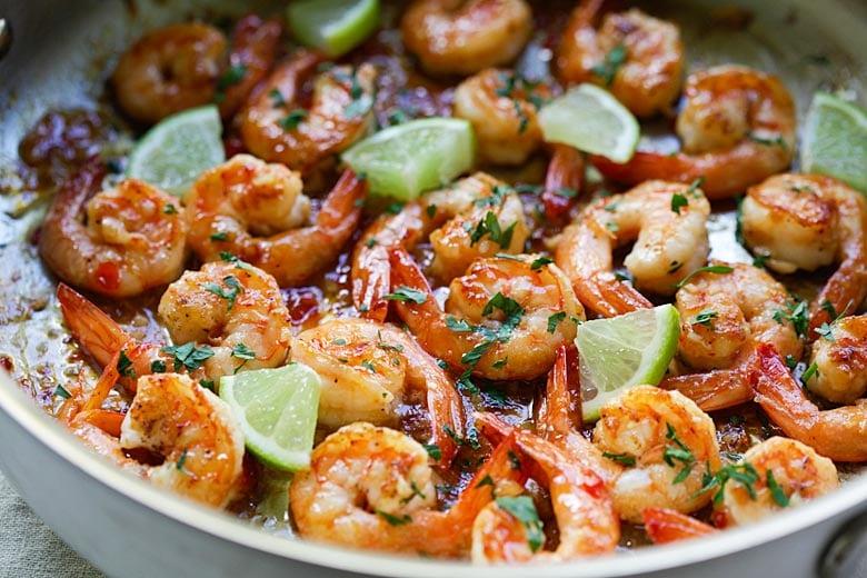 Sweet Chili-Garlic Shrimp