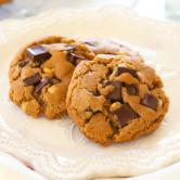 peanut butter dark chocolate cookies