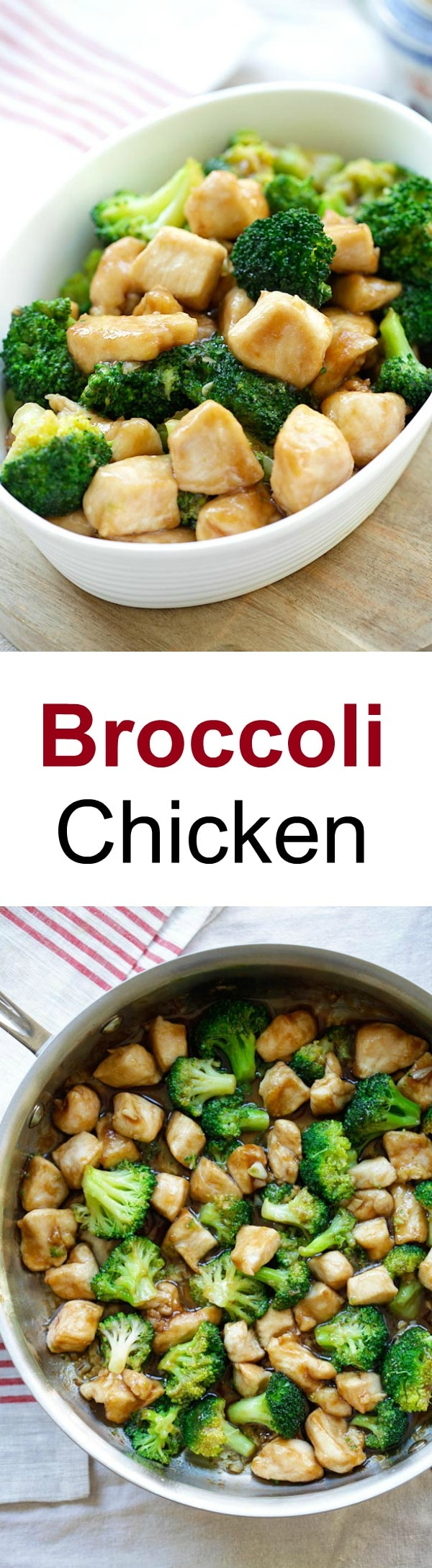 Chicken and Broccoli – Learn how to make healthy homemade chicken broccoli in brown sauce. Best and popular Chinese takeout recipe | rasamalaysia.com