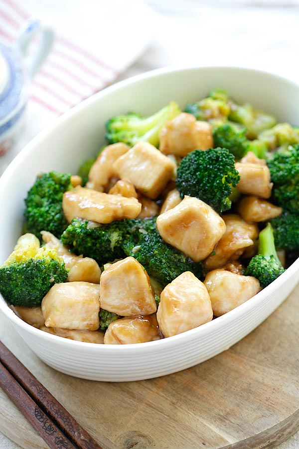Chicken and Broccoli - Learn how to make healthy homemade chicken broccoli in brown sauce. Best and popular Chinese takeout recipe | rasamalaysia.com
