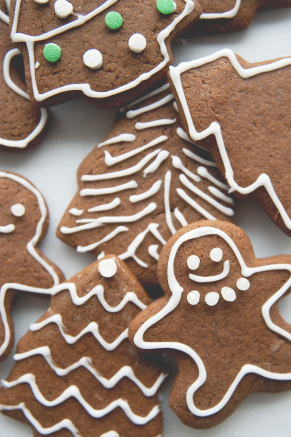 Super easy classic gingerbread man cookies.