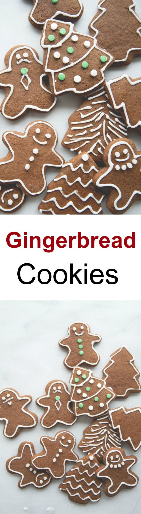 Gingerbread Cookies – the best gingerbread cookies recipe by @Claire Thomas. Yields crispy, aromatic and festive holidays cookies | rasamalaysia.com