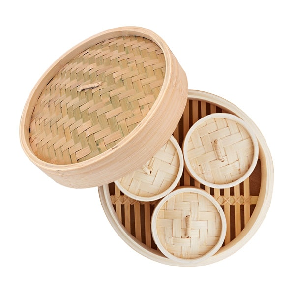 IMUSA GlobalKitchen Bamboo Steamer Giveaway (CLOSED)