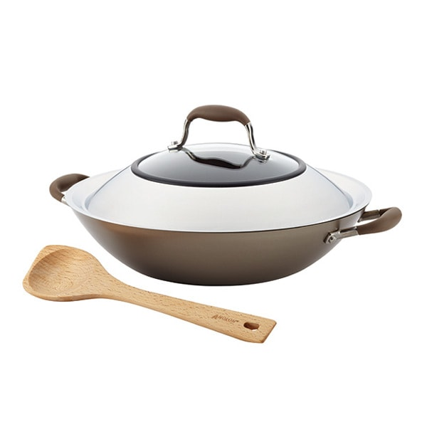 Anolon Advanced Umber 14-INCH Covered Wok with Pointy Spoon Giveaway