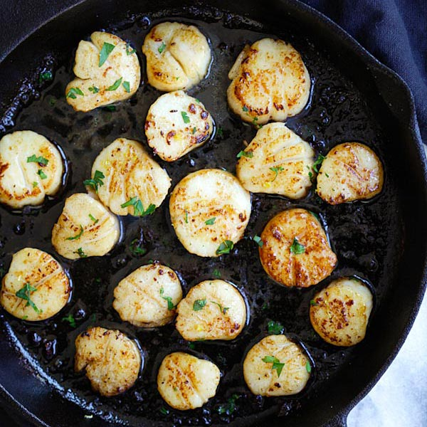 Brown Butter Scallops