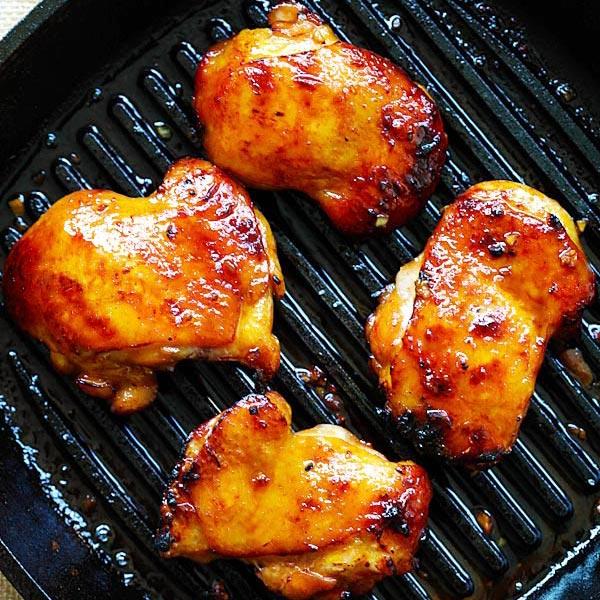 Honey Turmeric Chicken The Best Recipe Rasa Malaysia