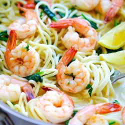 Shrimp Pasta Recipes Italian Shrimp Pasta Rasa Malaysia