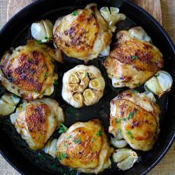 garlic chicken