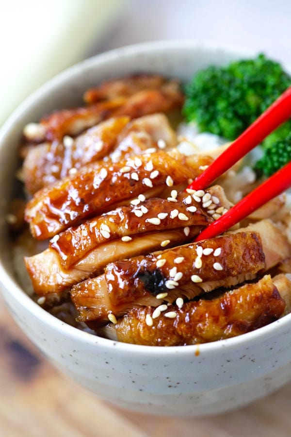 Chicken Teriyaki – learn how to make teriyaki sauce and chicken ...