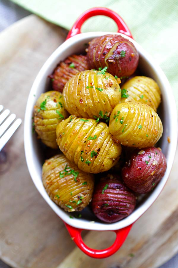 Roasted potatoes is one of the best potato recipes ever!