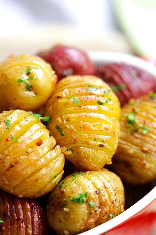 Potato Recipes Garlic Roasted Potatoes Oven Roasted Potatoes Rasa Malaysia