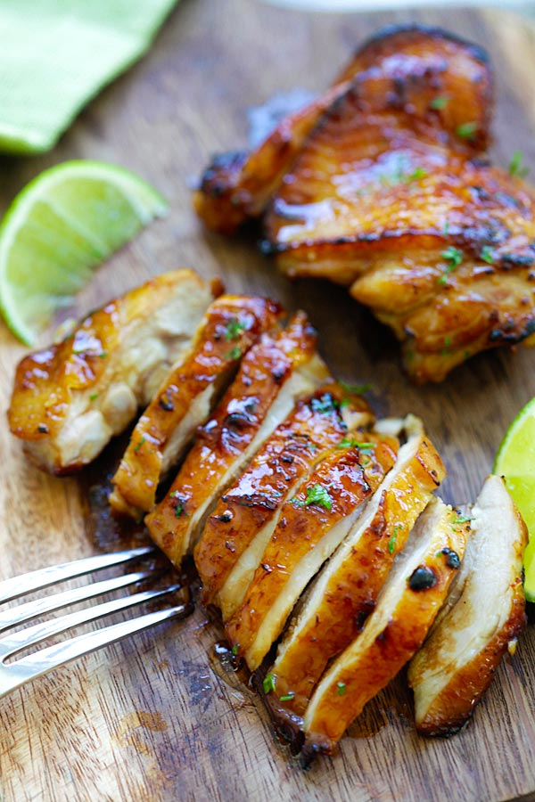 Honey lime chicken easy delicious recipes honey lime chicken crazy delicious chicken with honey lime the best chicken that you forumfinder Gallery