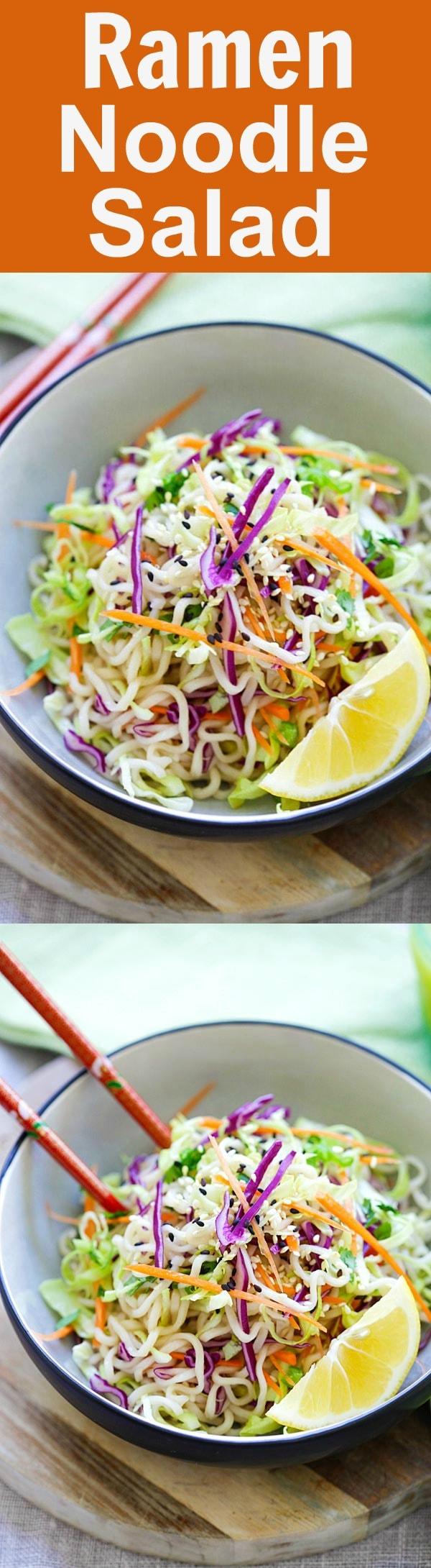 Ramen Noodle Salad Recipe | Rasa Malaysia