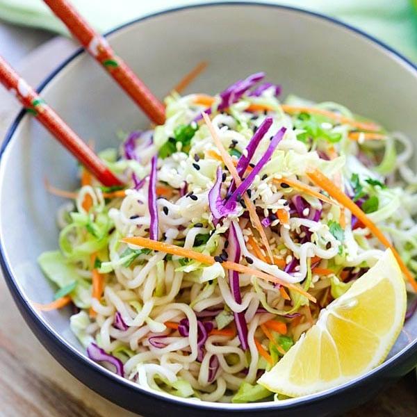 Ramen Noodle Salad Recipe Rasa Malaysia