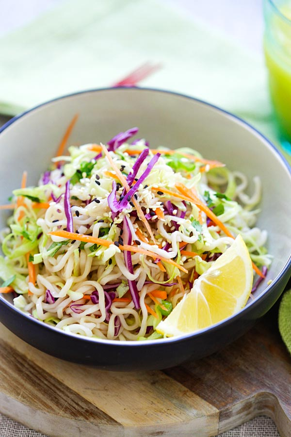 recipe malaysia ramen made and noodles, salad Noodle with  ramen Ramen  Salad Asian cabbage