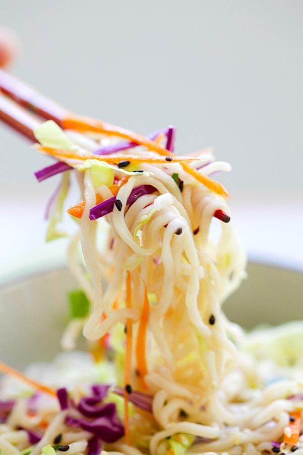 malaysia recipe ramen Noodle and with Ramen Asian made cabbage Salad ramen noodles,   salad