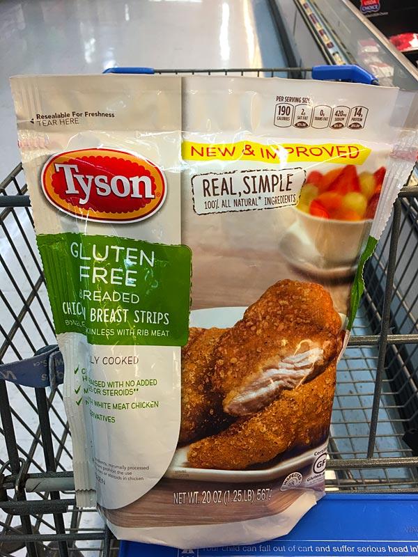 Tyson® Gluten Free Strips