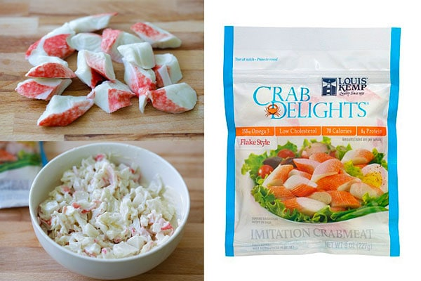 What's in a California Roll - Imitation Crab eat