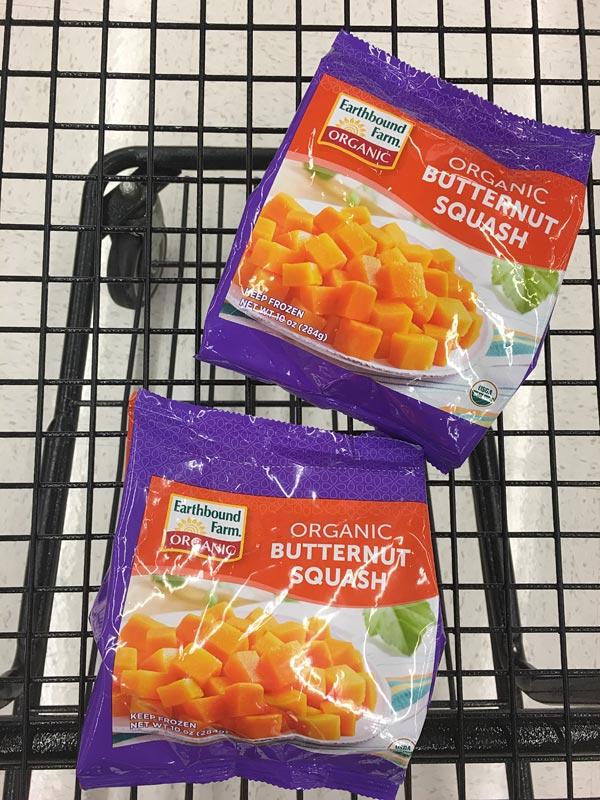 Earthbound Farm Frozen Butternut Squash