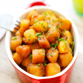 honey balsamic butternut squash