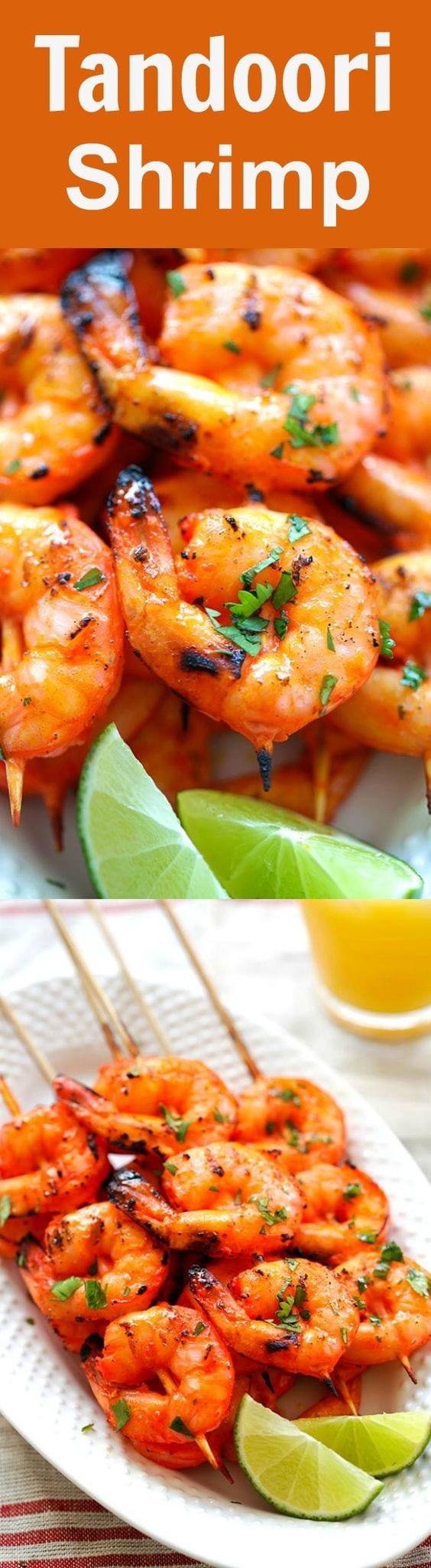 Tandoori Shrimp Recipe  thespruceeatscom