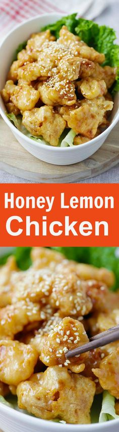 recipe: crispy honey lemon chicken [23]